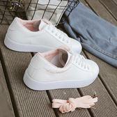 2018春季新款文藝小白鞋女學生百搭基礎白鞋韓版女鞋平底1992板鞋