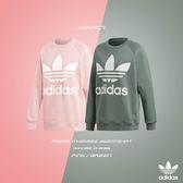 IMPACT Adidas Oversize Sweatshirt 三葉草 大學T 粉紅 綠 DH4432 DH3128