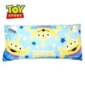 日本限定 迪士尼 玩具總動員 三眼怪 星球 飛碟 長型抱枕 & 枕頭 90×40cm