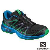 Salomon 男 WINGS FLYTE 2 野跑鞋-黑/景泰藍/經典綠 L39471500【GO WILD】