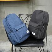 港仔男女後背包素色百搭學生書包英倫學院風休閒旅行背包帆布新年交換禮物