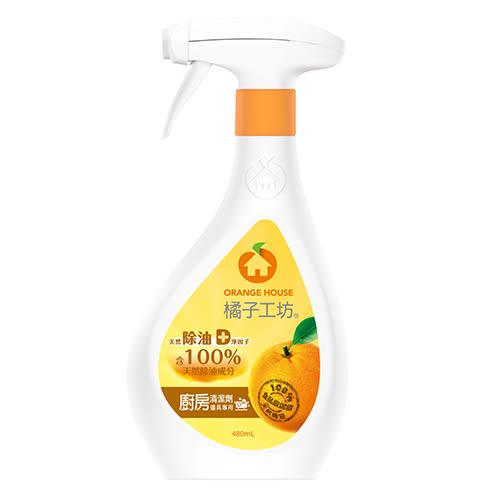 橘子工坊廚房烤爐清潔劑480ml【愛買】