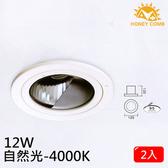 HONEY COMB LED 12W 室內洗牆式崁入型燈具 2入一組TK3106-4