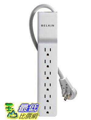 [美國直購 USAShop] 電湧保護器旋轉插頭 Belkin 6-Outlet Commercial Surge Protector with Rotating Plug (8 Feet) _TC33
