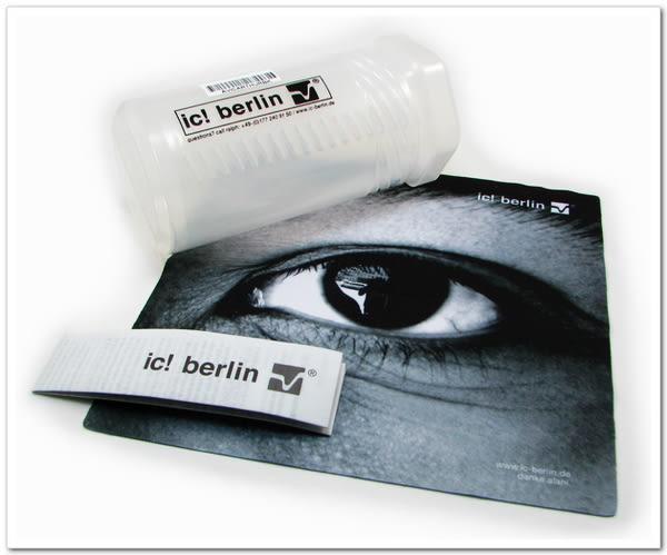 【台南 時代眼鏡 ic! berlin】Silvio #030 青 德國薄鋼眼鏡 嘉晏公司貨可上網登錄保固
