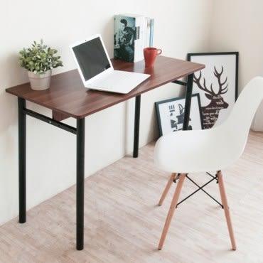 【Hopma】圓腳工作桌-深柚木