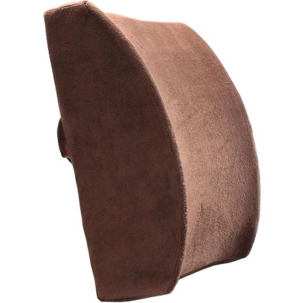 愛之舟椅子腰墊腰枕靠枕腰靠辦公室靠背抱枕記憶棉汽車護腰靠墊