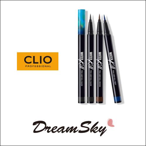 韓國 CLIO 珂莉奧 夢幻 水藍 眼線液筆 黑色 棕色 孔曉振 孔孝真(0.55ml/支) DreamSky