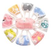紗布口罩 兒童六層紗布口罩 防塵口罩 加厚 嬰兒口罩 RA12708
