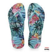 Havaianas 哈瓦士 新竹皇家 H.SLIM TROPICAL F 藍色 夾腳鞋 女款 NO.H2200