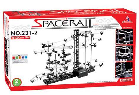 Spacerail曲速引擎/瘋狂雲霄飛車 等級2 機械骨架及鋼珠之間的急速快感