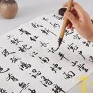 加厚粉彩箋宣紙書法專用作品紙仿古半生半熟四尺整張書法宣紙【雲木雜貨】