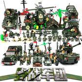 樂高積木軍事繫列兒童益智玩具飛機坦克6-8-12歲拼裝男孩禮物BL 全館八折柜惠