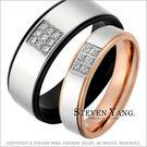 情人對戒 西德鋼飾「眼中只有你」鋼戒指*...
