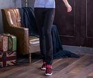 【MJ3】修身靴型壓縮褲/壓力褲-女(神秘黑) 運動褲 瑜珈褲 韻律褲 休閒褲 慢跑 路跑 台灣製