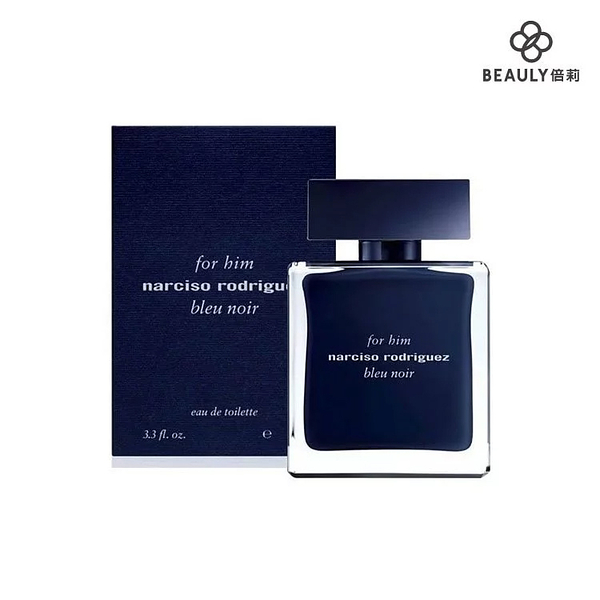 Narciso Rodriguez for him bleu noir 紳藍男性淡香水 50ml《BEAULY倍莉》