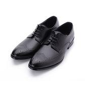 BABYLON 真皮雕花德比紳仕皮鞋 黑 14029 男鞋 鞋全家福