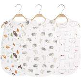 寶寶睡袋薄棉防踢被嬰兒四季紗布睡袋兒童加厚睡袋薄   提拉米蘇