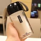 韓製玻璃杯雙層便攜水杯女學生可愛隨手杯男女杯子家用商務迷你杯【快速出貨】