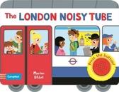 The London Noisy Tube 熱鬧的倫敦地鐵硬頁音效書