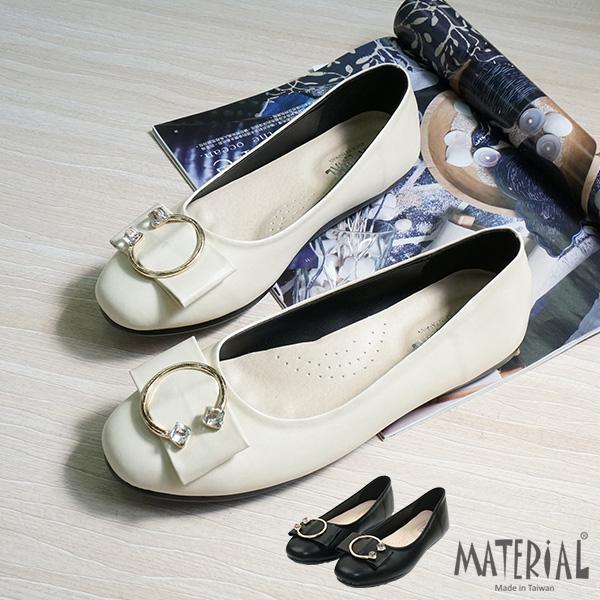 包鞋 閃亮圓扣娃娃鞋 MA女鞋 T7117