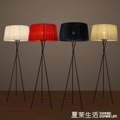 后現代簡約客廳書房落地燈北歐復古G5落地燈中式落地燈三角落地燈