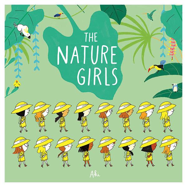 【麥克書店】The Nature Girls自然科學STEM教學英文圖畫童書繪本