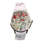 【Disney】公主系列 小美人魚、貝兒、長髮公主 皮製錶帶兒童錶-手繪款/PS-3K2463U-003WE/享一年保固