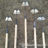 鋤草神器 花鋤草鋤木柄全鋼小鋤頭園林除草農具農用翻地鬆土器園藝工具種菜 阿卡娜
