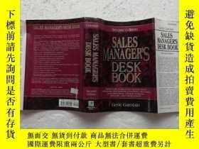 二手書博民逛書店Sales罕見Manager s Desk Book (英語)Y