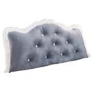 床頭靠墊久坐護腰軟包大靠背沙發三角長靠枕臥室床上榻榻米可拆洗 艾瑞斯