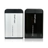 [哈GAME族]滿399免運費 可刷卡 伽利略 SATA USB2.0 2.5吋 硬碟外接盒 HD-256U2S 鋁合金 隨插即用 黑/銀