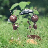 創意可愛鐵藝螞蟻小擺件擺設