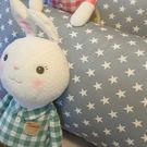 [磨毛]藍色星星枕頭套2個