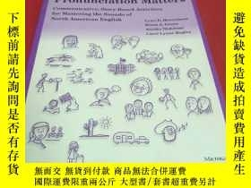 二手書博民逛書店Pronunciation罕見mattersY366498