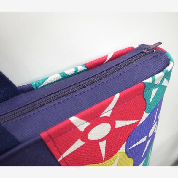 朝顏 紫色 托特包  肩背包 外出包 *Mita*MI-0930