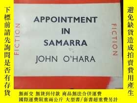 二手書博民逛書店APPOINTMENT罕見IN SAMARRA BY JOHN
