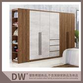 【多瓦娜】緹諾7.8尺組合衣櫃(全組) 19031-351004