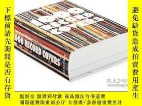二手書博民逛書店1000罕見Record Covers,1000個專輯封面 英文