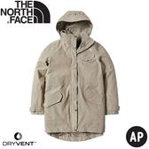 【The North Face 女 DryVent防水外套《卡其》】497C/衝鋒衣/防風外套/防水夾克