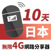 【TPHONE上網專家】韓國網路無限高速4G分享器 10天 一天只要$110