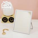 【MBA005】銀白鋁框美人桌上立鏡 Amos