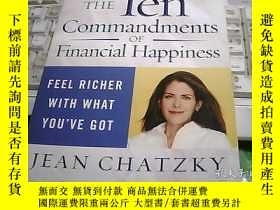 二手書博民逛書店THE罕見Ten commandments OF Financi