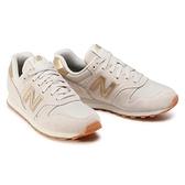 New Balance 女款米白色復古休閒鞋-NO.WL373FC2