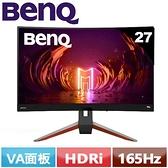 BenQ 27型 EX2710R MOBIUZ 1000R曲面電競螢幕