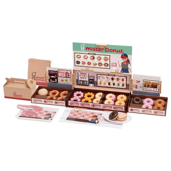 莉卡娃娃Licca 2020 莉卡Mister Donut家家酒遊戲組