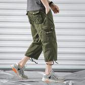 短褲 五分褲 男士 休閒褲八分工裝 運動褲702 P48