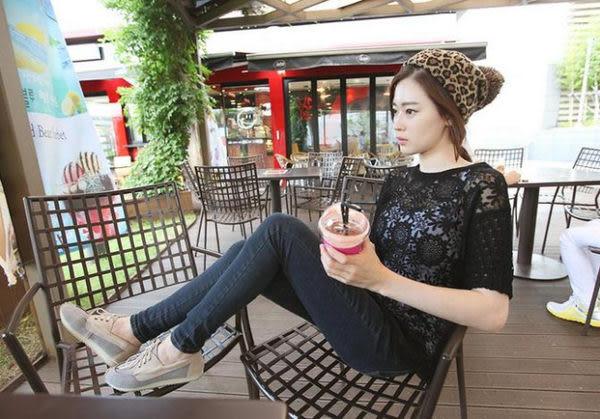 韓版秋冬季保暖新款時尚百搭豹紋大球球針織毛線帽尖尖帽套頭帽子 超取4-7天