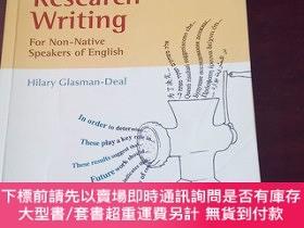 二手書博民逛書店Science罕見Research Writing for Non-Native Speakers of Engl