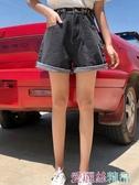 牛仔短褲 牛仔短褲女士寬鬆顯瘦a字高腰2020夏薄新款大碼胖mm熱褲百搭ins潮 7月熱賣